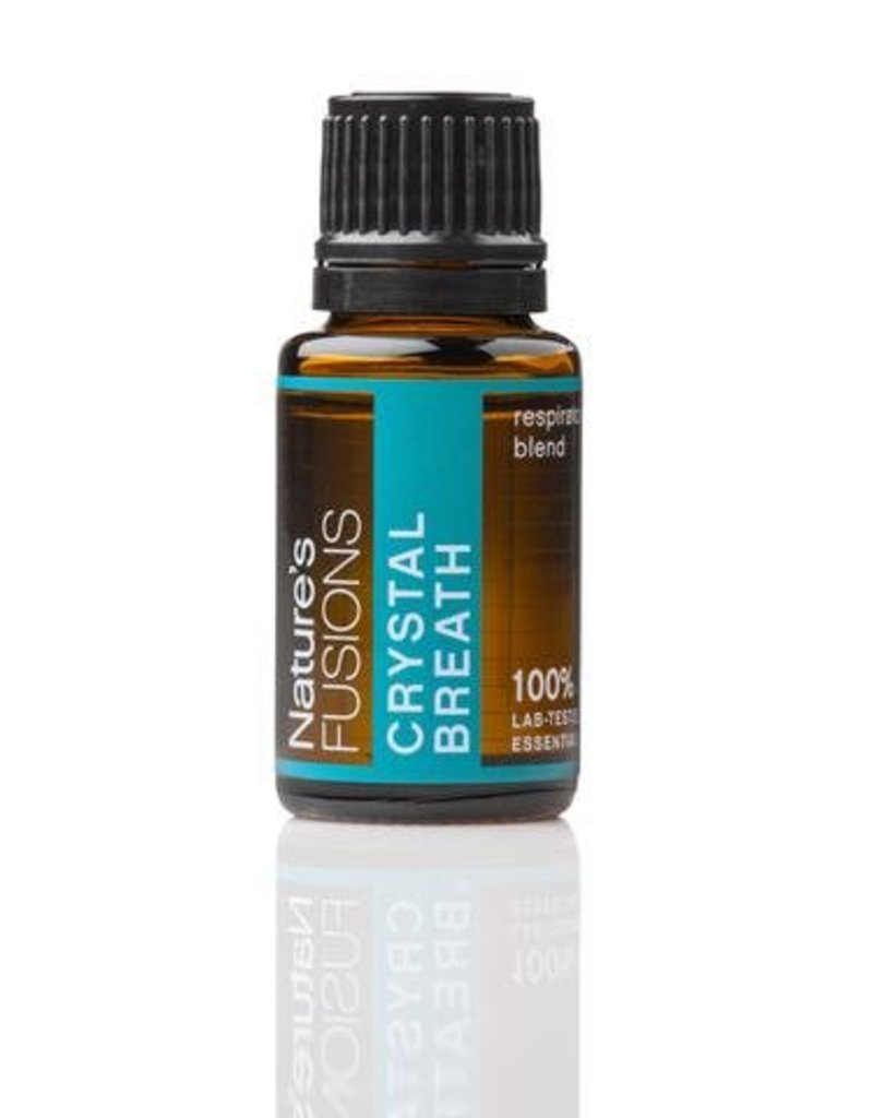 Nature's Fusions Nature's Fusions 100% Pure, Therapeutic Essential Oil Crystal Breath 15ml