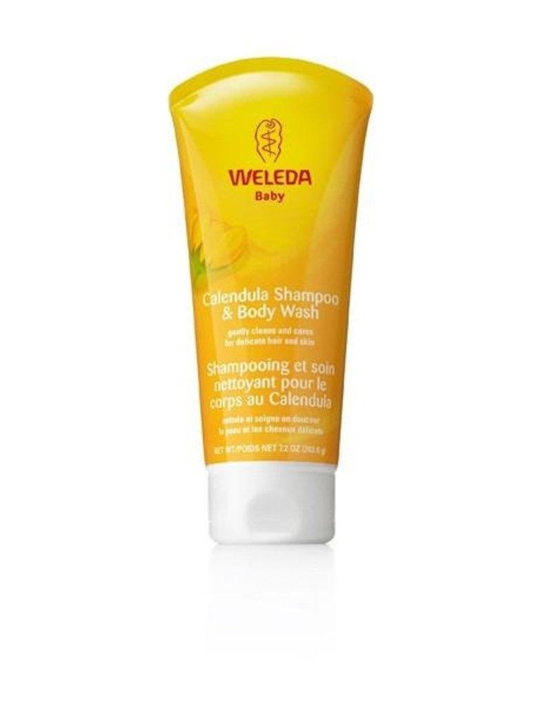 WELEDA WELEDA - Calendula Shampoo & Body Wash - Net wt 7.2 oz (203.6g)