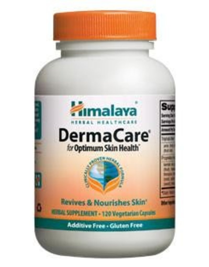 Himalaya Himalaya Pure Herbs - Derma Care for Optimum Skin Health Herbal Supplement - 120 Vegetarian Capsules