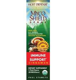 Host Defense Host Defense Organic Mushroom Dietary Supplement - MycoShield Spray Immune Support - 1 fl. oz.