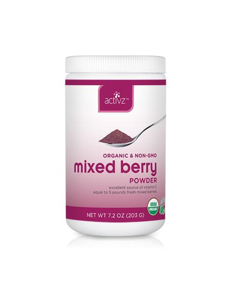 Activz Organic Mixed Berry Whole Powder