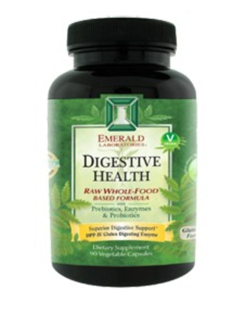Emerald Laboratories - Digestive Health - 90 Vegetable Capsules