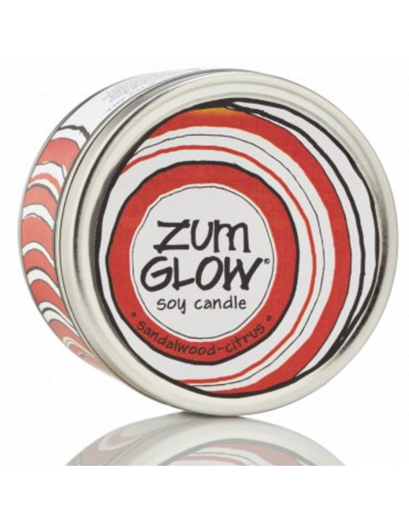 Zum Zum Glow Candle 7 oz. Sandalwood - Citrus