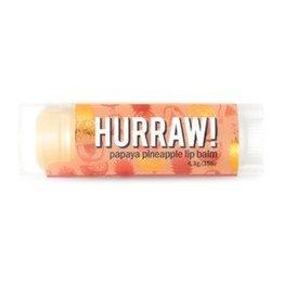 Hurraw Hurraw Organic Vegan Lip Balm .15 oz  Papaya Pineapple