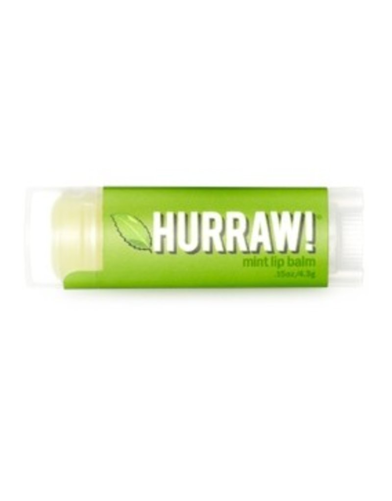 Hurraw Hurraw Organic Vegan Lip Balm .15 oz  Mint