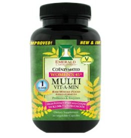 Emerald Laboratories - CoEnzymated Women's 45+ Multi Vitamin 1 A Day 60 Vegetable Capsules