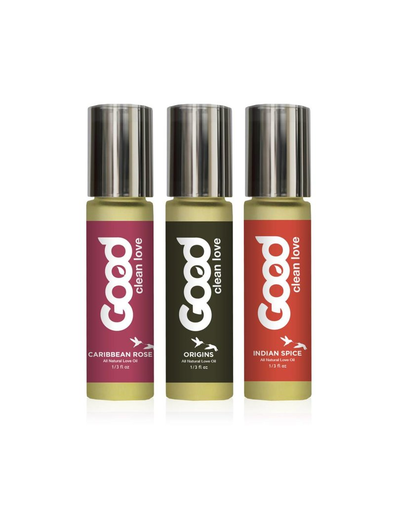 Good Clean Love Good Clean Love - Love Oils Gift Set