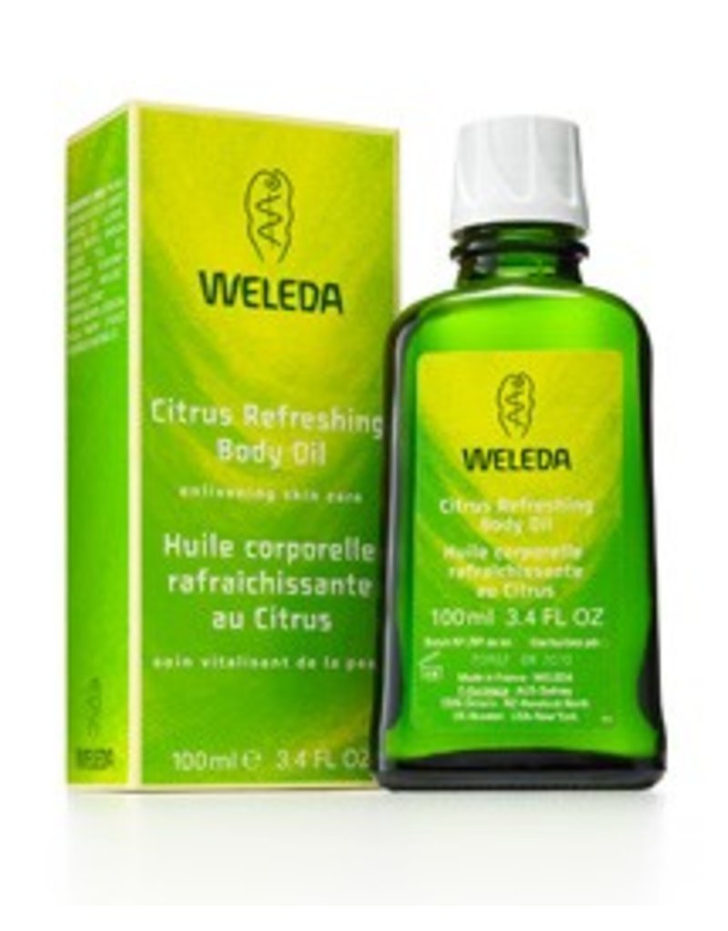 WELEDA WELEDA Citrus Refreshing Body Oil - Net wt 3.4 fl. oz (100ml)