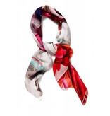 Coco Lee Morgen is vandaag de dag, Red gedrukt sjaal