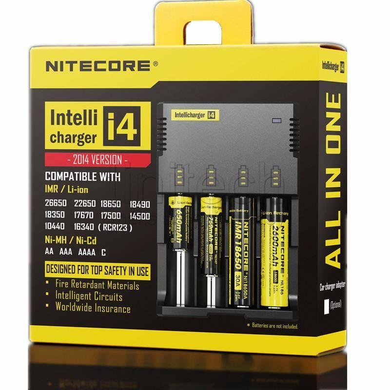 Nitecore i4 Intelli Battery Charger