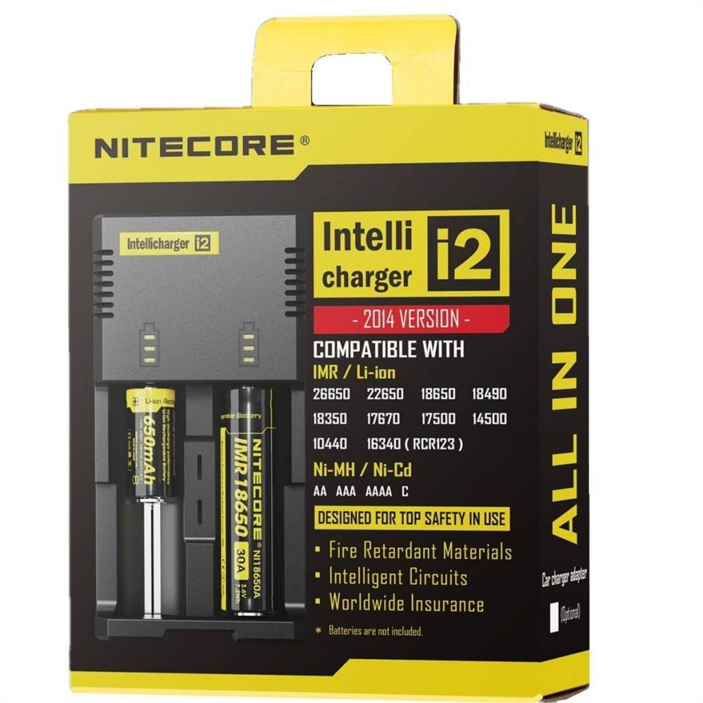 Nitecore i2 Intelli Charger