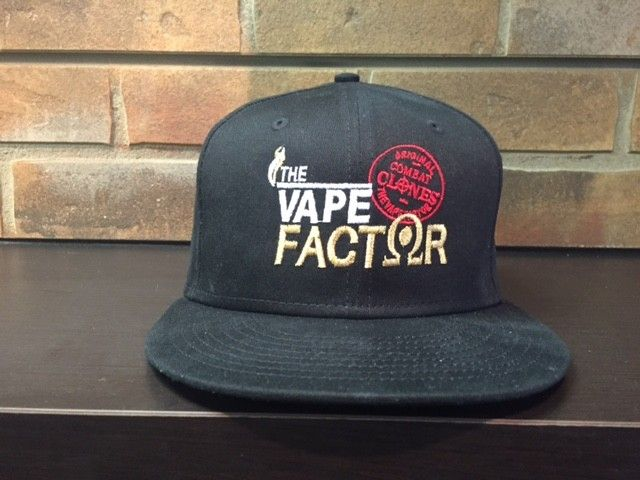 The Vape Factor Snap Back Cap
