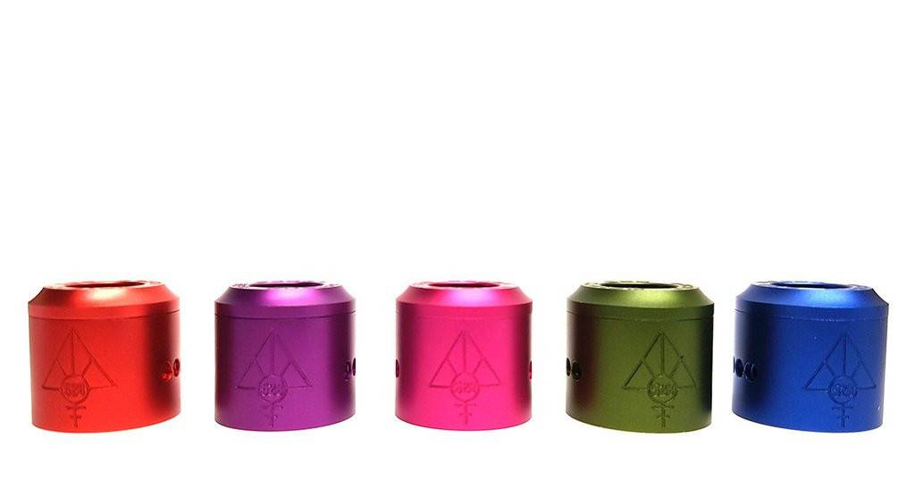 528 Custom Vapes Goon RDA Anodized Colored Caps