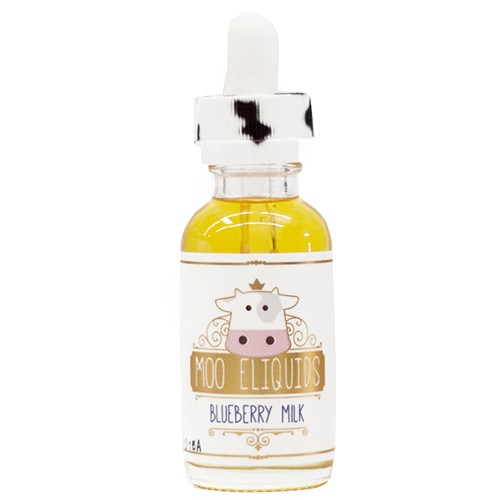 Moo Eliquid Moo E-Liquid - Blueberry Milk