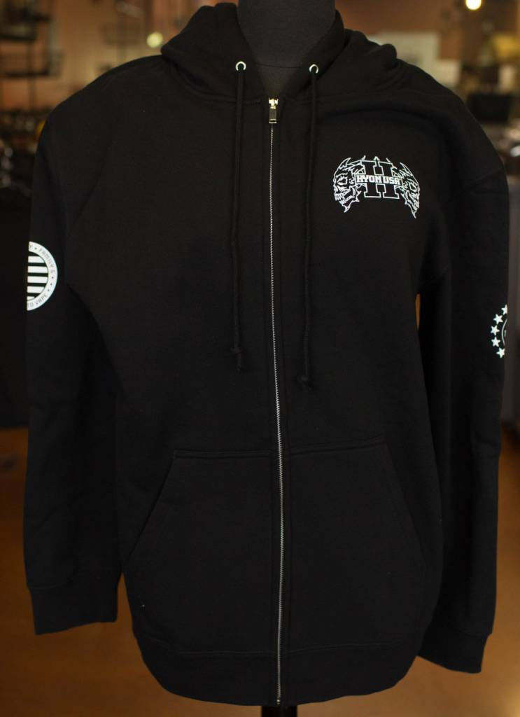 Hyon Zipper Front Hoodie