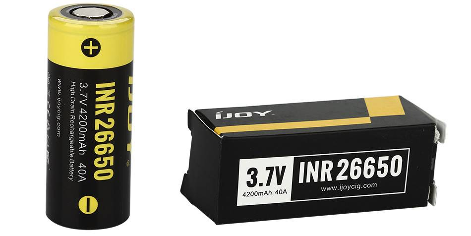 IJOY iJoy - INR 26650 Battery