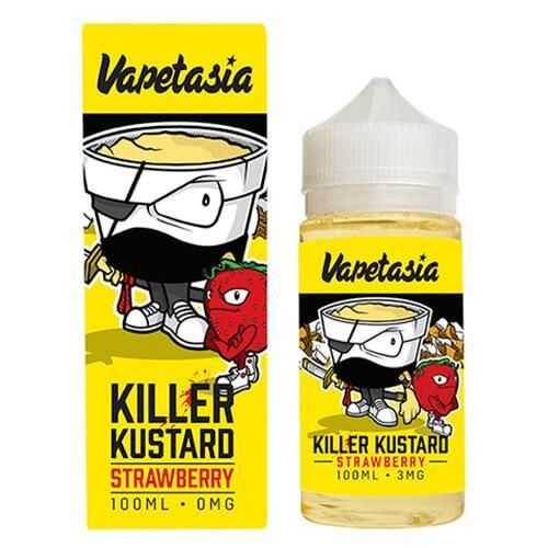 Vapetasia Vapetasia - Killer Kustard Strawberry