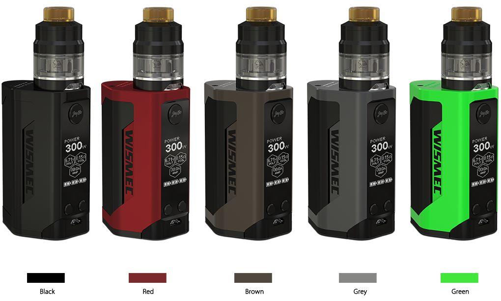 Wismec Wismec - Reuleaux GEN3 300W Starter Kit