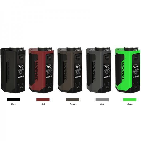 Wismec Wismec - Reuleaux RX GEN3 300W TC Box Mod