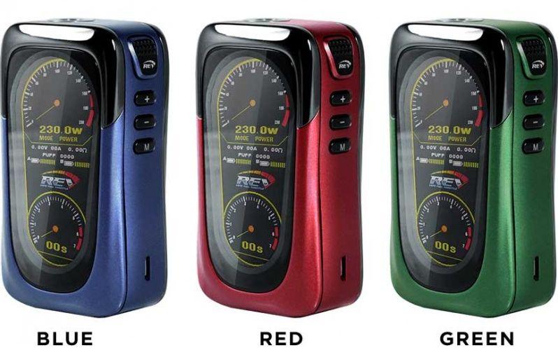 Rev Tech - GTS 230W TC Box Mod