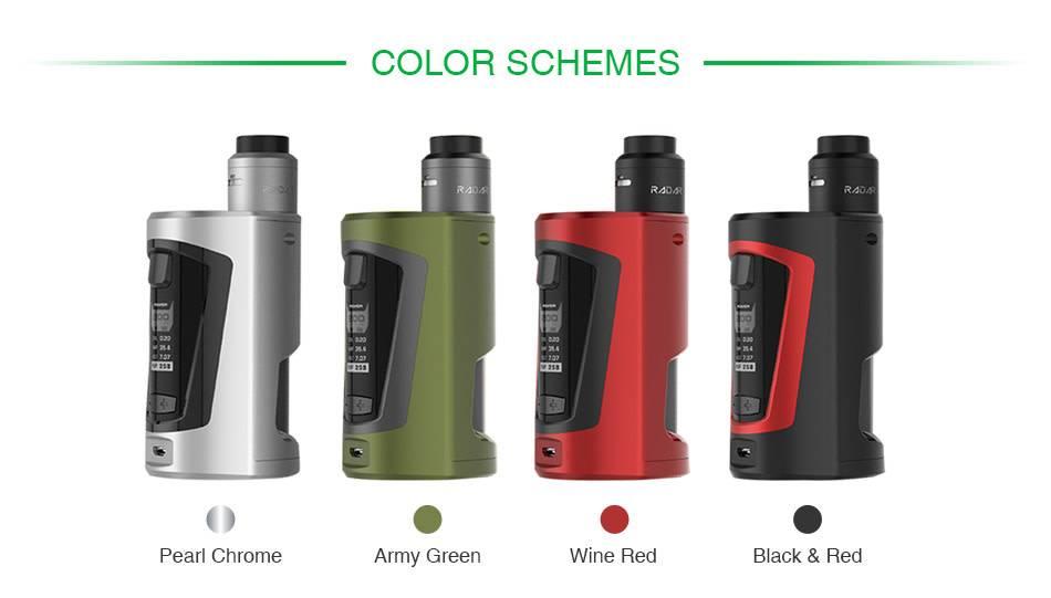 GeekVape - GBOX Squonker 200W TC Starter Kit