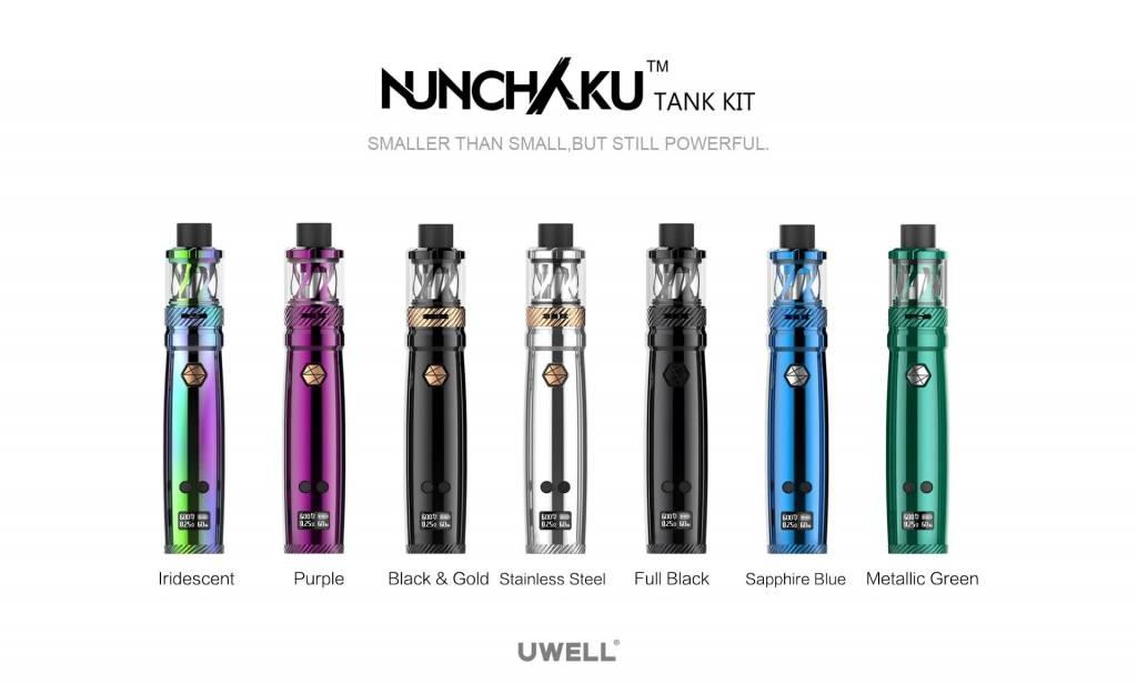 Uwell Nunchaku 80w Tc Starter Kit The Vape Factor