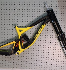 Polygon 2017 Polygon Collosus DH9 Yellow with SR Suntour Rux Frameset