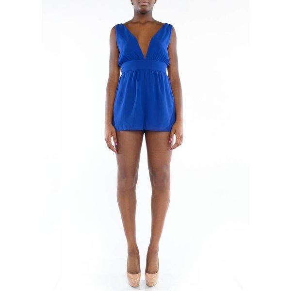 Amaya Romper Royal Blue
