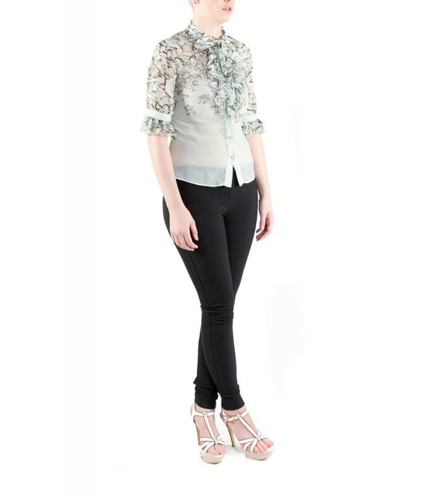 Angelica Blouse Pastel Blue