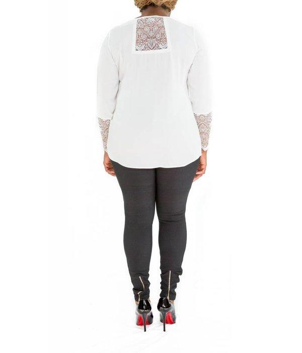 Aria Blouse White