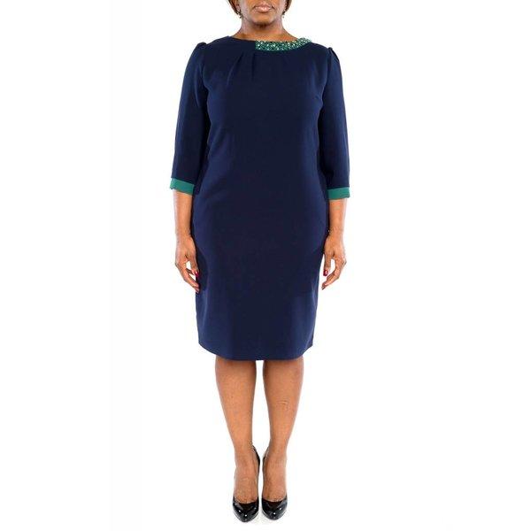 Aurora Dress Navy Blue