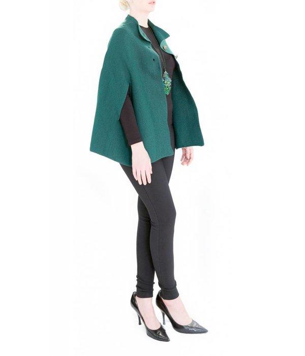 Carmen Poncho Green