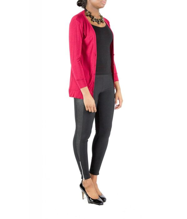 Cordelia Cardigan Red