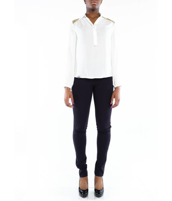 Dallas Blouse White