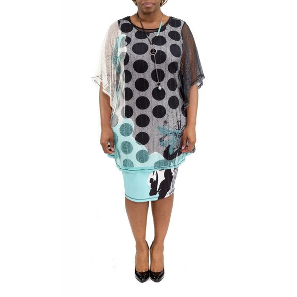 Emery Dress Teal