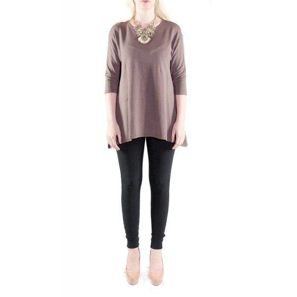 Felicia Tunic Coffee Brown
