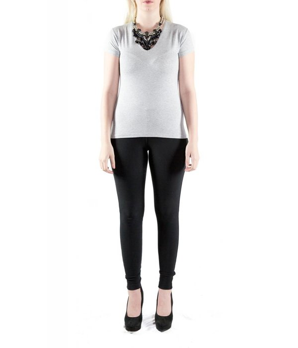 Lena Top Light Grey Medium