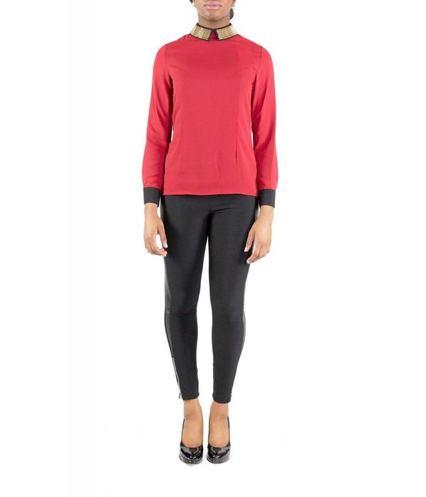 Parker Blouse Red