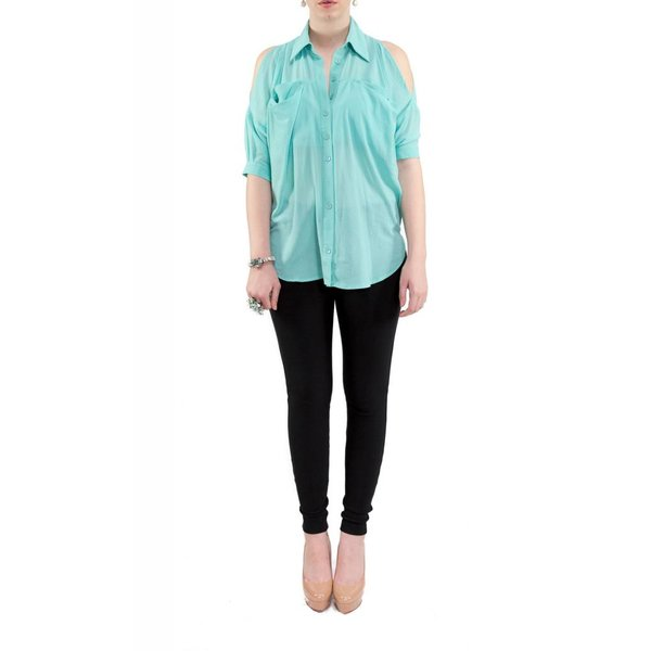 Sadie Blouse Teal