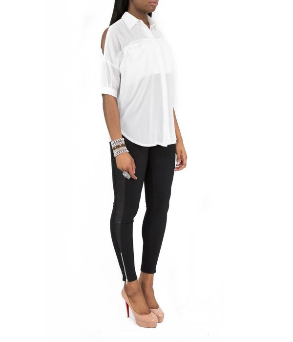 Sadie Blouse White
