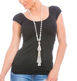 Butterfly Santorini 'Classic' Tassel Necklace