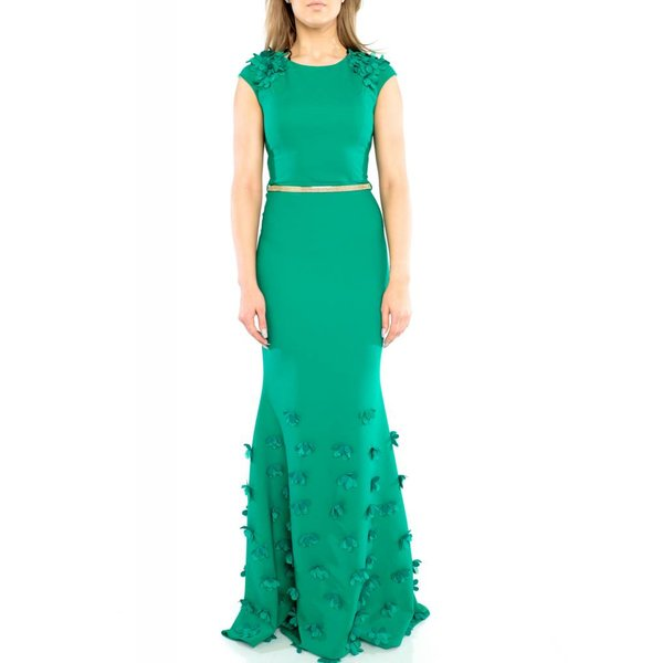 Valeria Dress Green