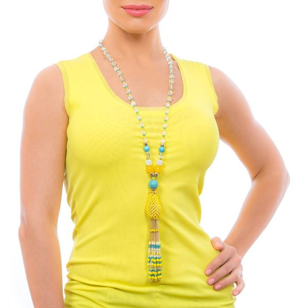 Butterfly Eivissa 'Classic' Tassel Necklace