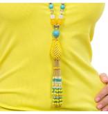 Butterfly Eivissa 'Classic' Tassel Necklace