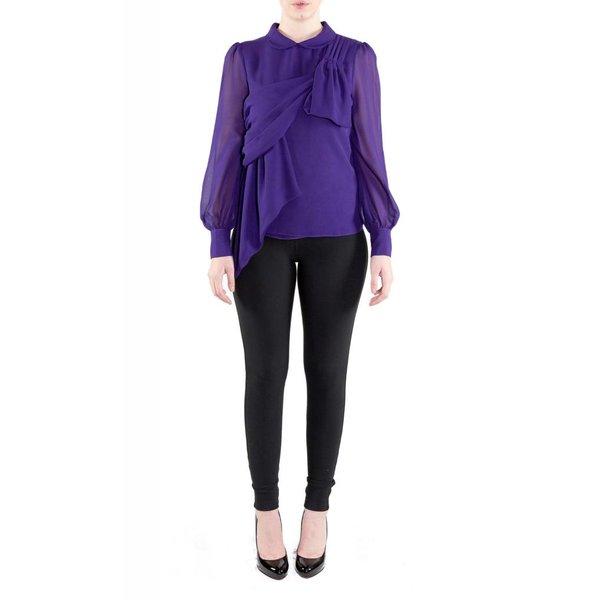 Vivian Blouse Purple