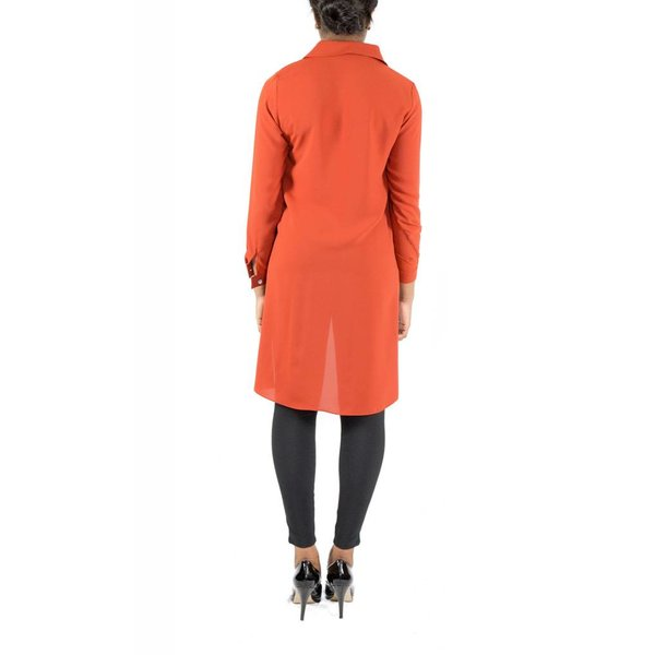 Heidi Tunic Burnt Orange