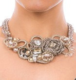 Butterfly La Mer Champagne Short Necklace