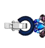 Butterfly Lapis Luxe Blue and Purple Bracelet