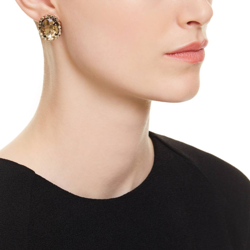 stud yellow large gold petale en p tale birks earrings