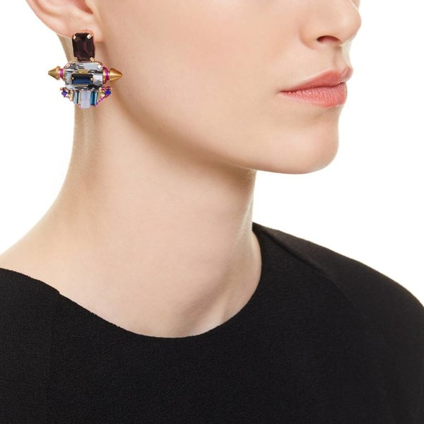 Butterfly Aurora Blue and Purple Earrings